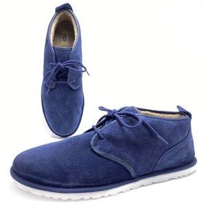 UGG Maksim 16 Blue Ankle Chukka Boots 1016680
